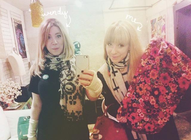 Wendy & I at Midland Antiques