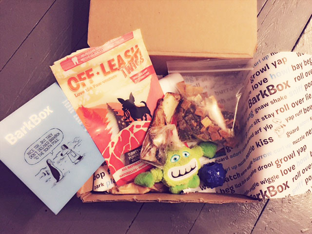 barkbox package