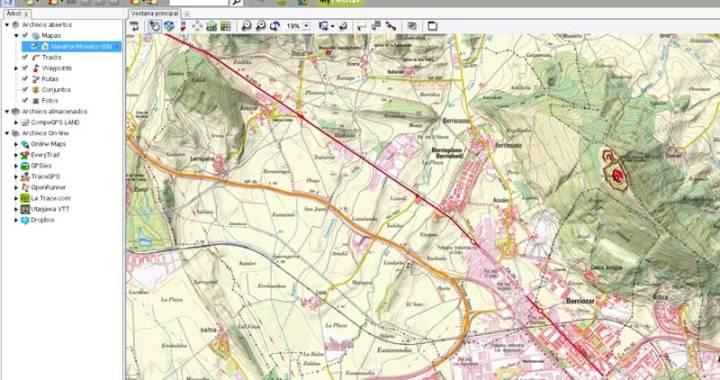 Mapa Navarra 1:25.000