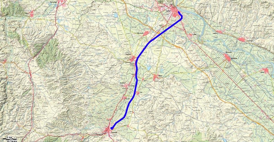 Mapa recorrido 177btt