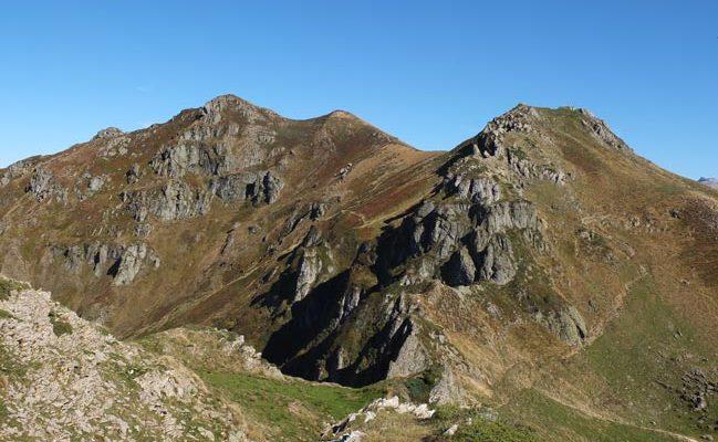 Pico Lakora desde Kortaplana Belagua
