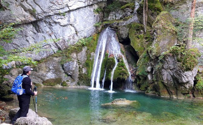 Cascada de Belabarce en Isaba