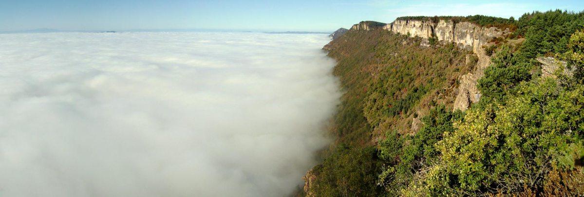 Pico Escalar y sierra de Leyre