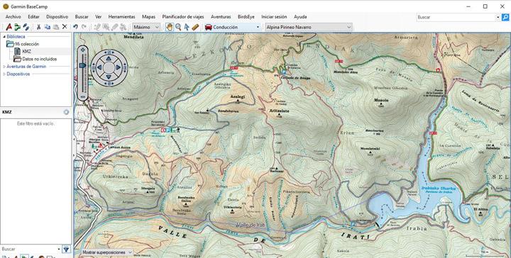 Mapas Alpina para garmin