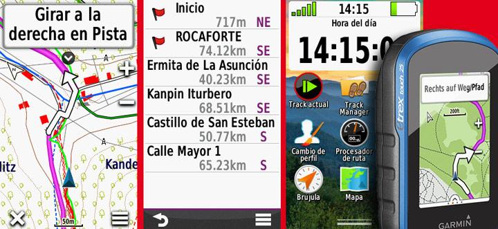 Configurar un Garmin para rutear con TopoNavarra 1.0