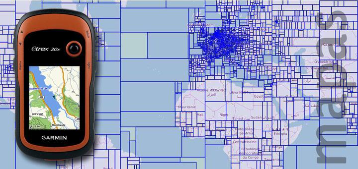 Mapas OSM para Garmin