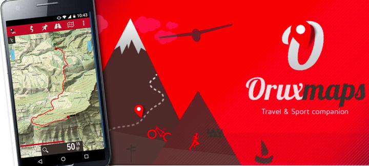 Grabar excursiones con tu móvil Oruxmaps