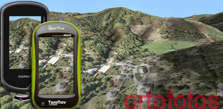 Ver ortofotos en tu GPS
