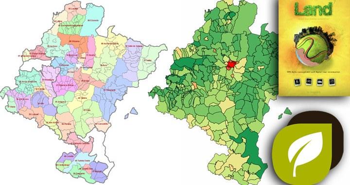 Mapa indice de municipios en Compegps