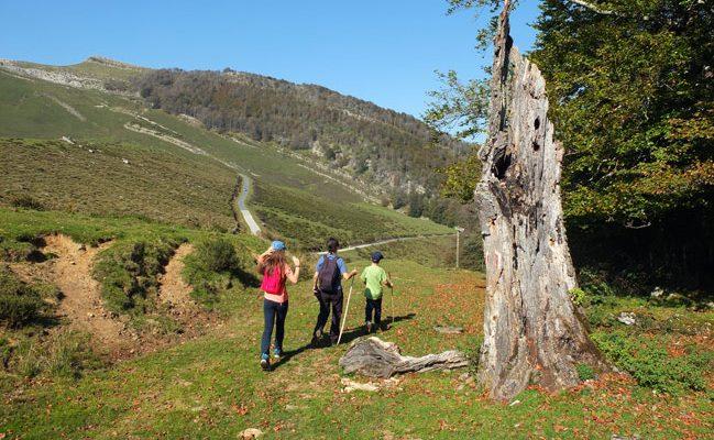 Vuelta a Ursario en Selva de Irati Orbaizeta