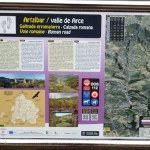 Panel Calzada romana de Arce