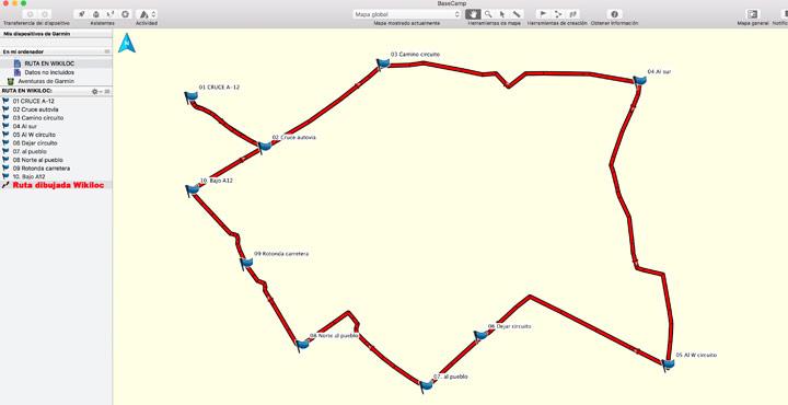 Track nuevo comprobado en Basecamp