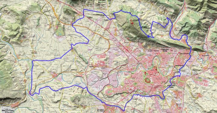 Mapa del recorrido 260BTT