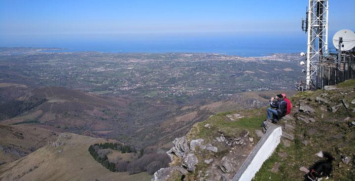 Panorámica desde el monte Larun