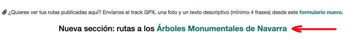 Arboles Monumentales de Navarra