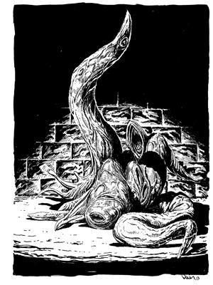 Earl Geier Presents Dungeon Monster