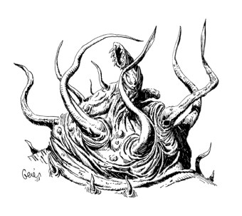 Earl Geier Presents Tentacled Horror