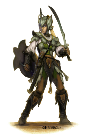 Eric Lofgren Female Elf Fighter