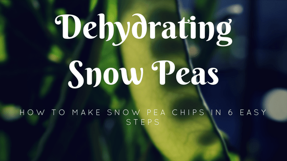dehydrating snow peas