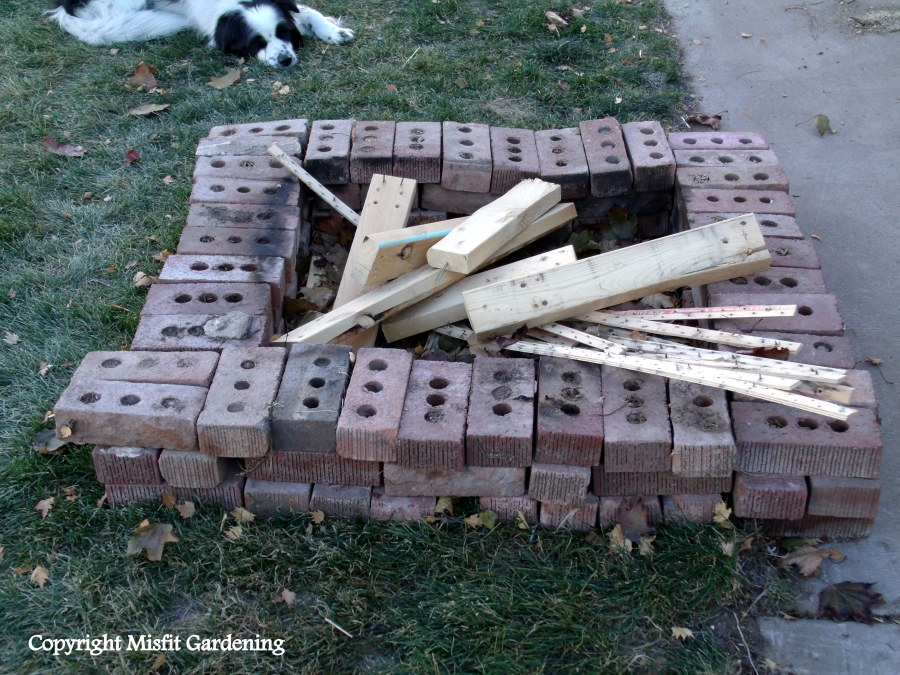 Make shift firepit