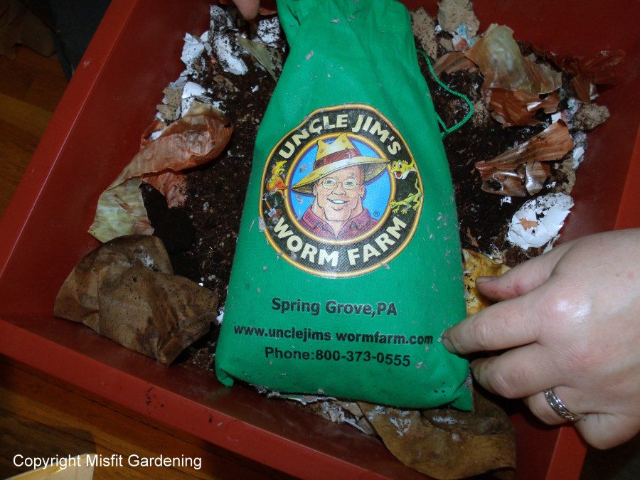 Composting worms