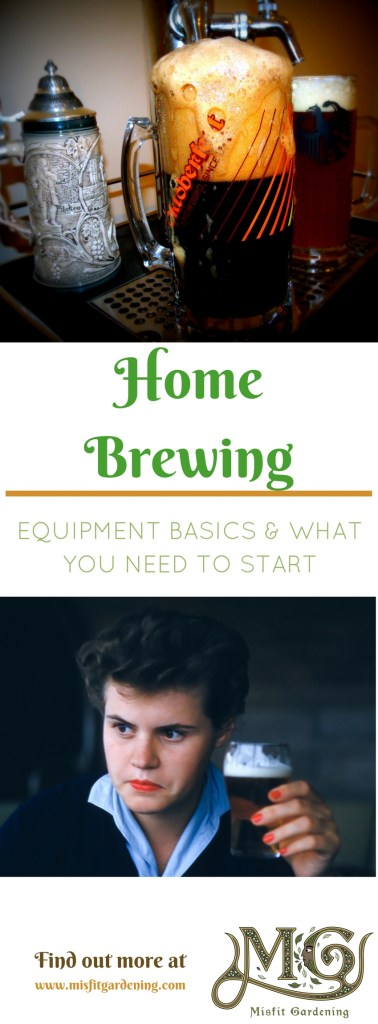 What equipment do you need to start home brewing- Click to find out what you need to start or pin it and save it for later.