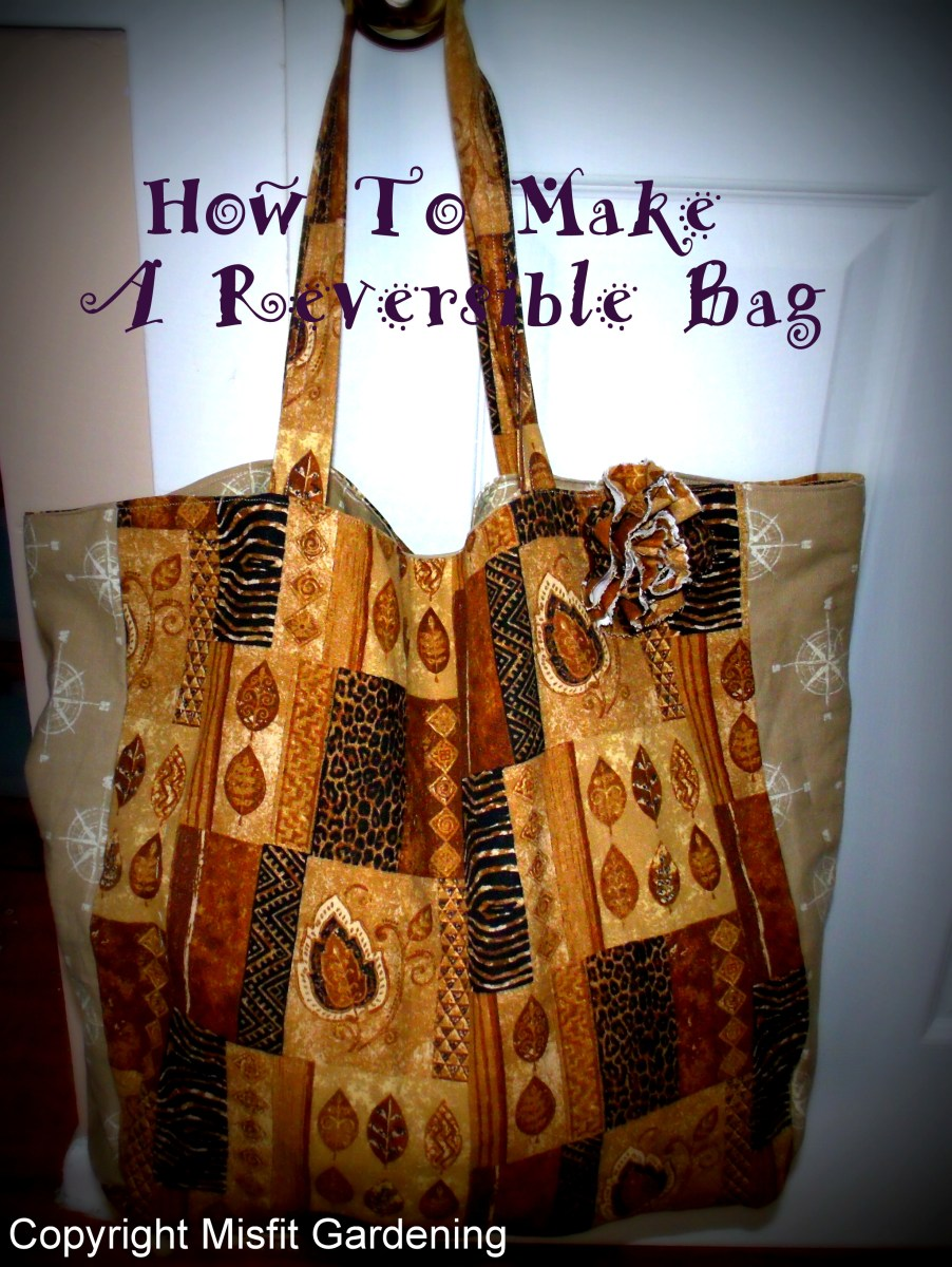 How To Make A Reversible Tote Bag