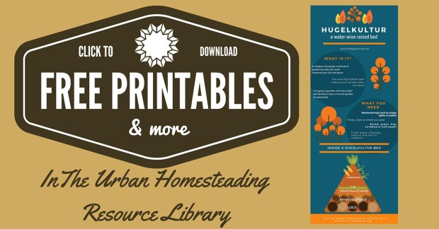 Free Access To The Urban Homesteading Resource L