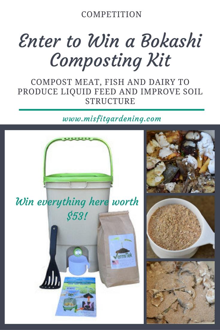 Win A Bokashi Composter Kit