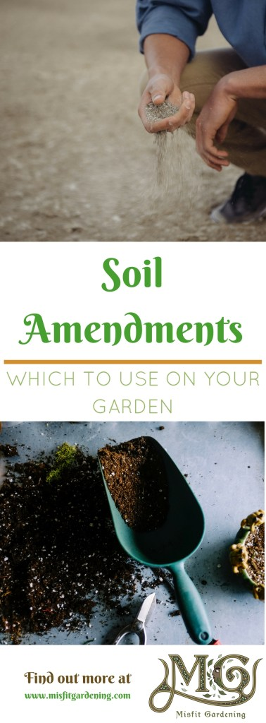 Find out how to amend your soil and grow your best garden. Click to find out more or pin it and save it for later