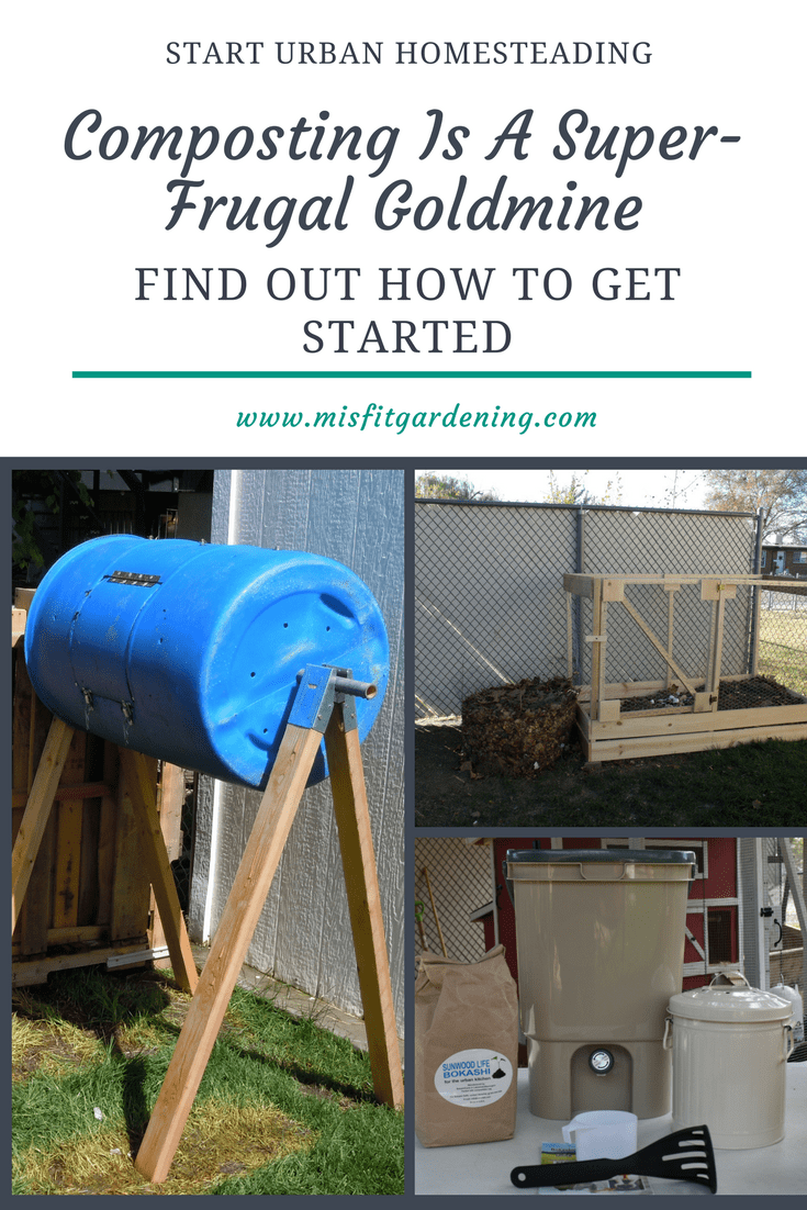Composting Is A Super-Frugal Goldmine How To Get Started