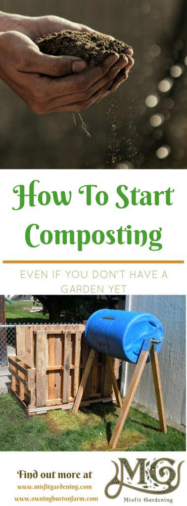 How to get started composting and save money in the garden. Click to find out how to start this super frugal gold mine or pin it for later.