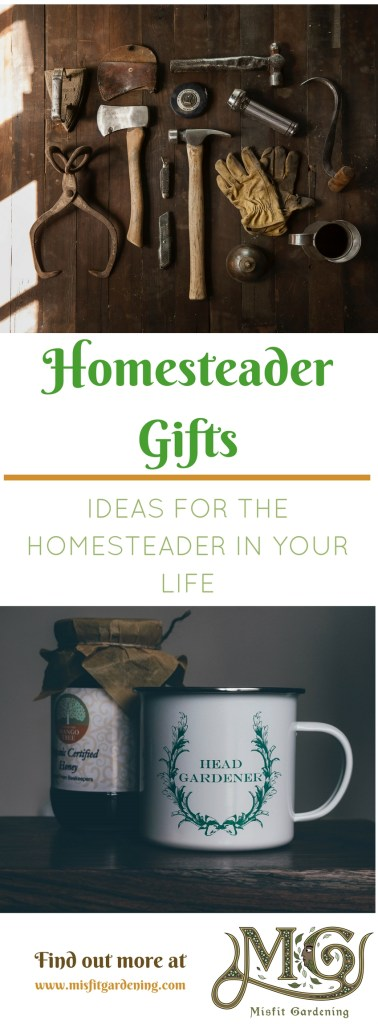 Homesteaders can be tough to buy gifts for. Click to find out over 50 gift ideas for the homesteader in your life or pin it and save for later