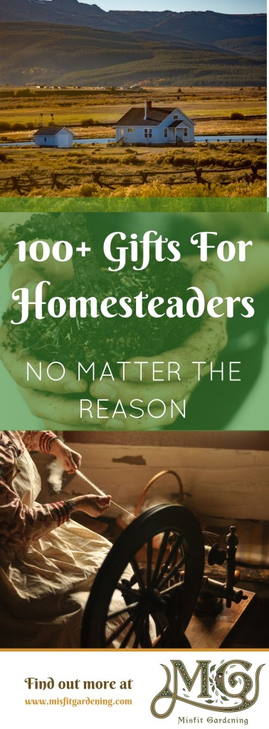 Need to buy a gift for a homesteader_ Click to find some inspiration for gifts you can buy or make for the homesteader in your life. #homestead