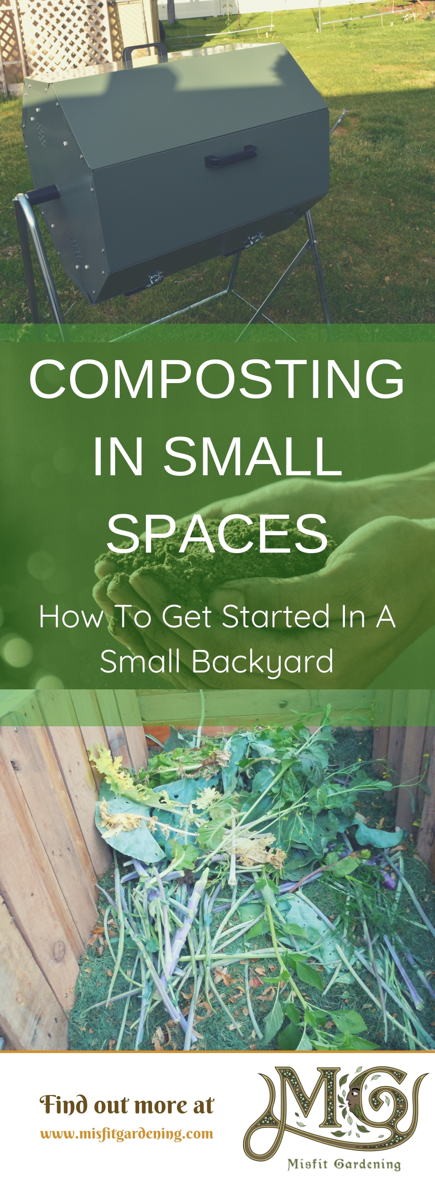 How Do I Start Composting In A Small Garden_ Click To Learn How To Start #