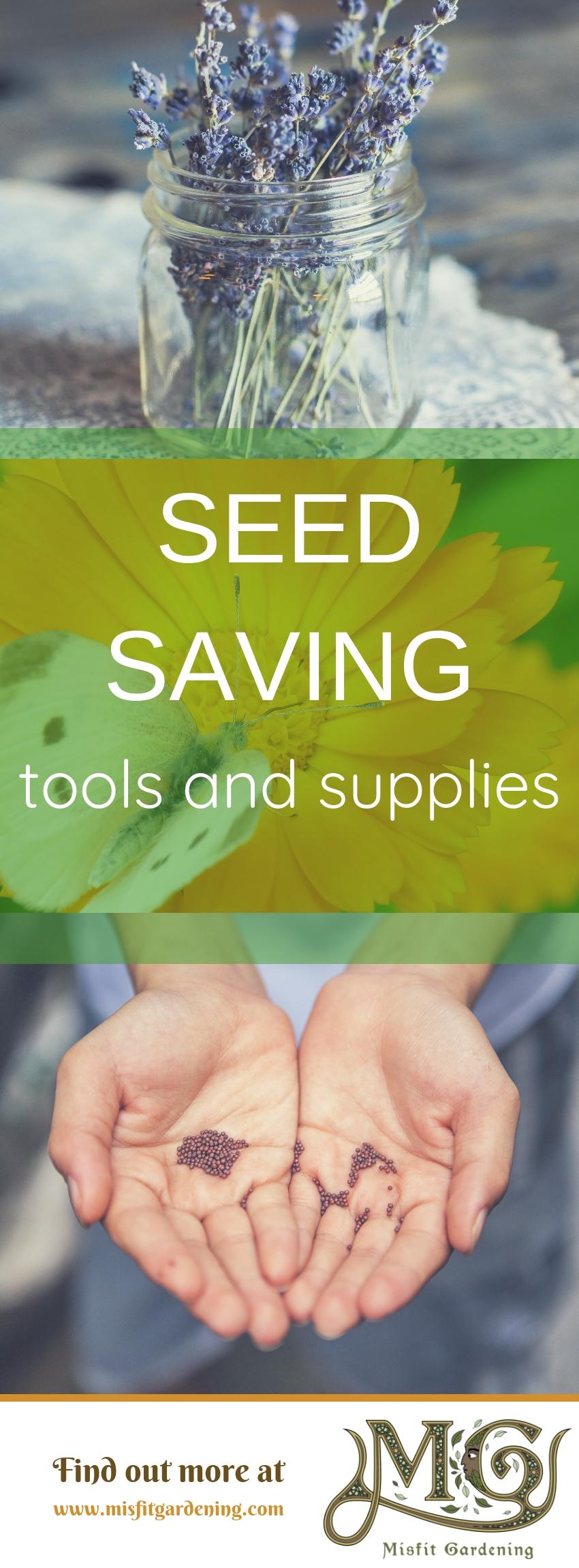 Erfahren Sie mehr über billige und einfache Saatgutspargeräte und -werkzeuge, mit denen Sie offen bestäubtes Saatgut sparen können. Klicken Sie hier, um mehr zu erfahren, oder stecken Sie es fest und speichern Sie es für später. #Garten #Saatgut #Haus