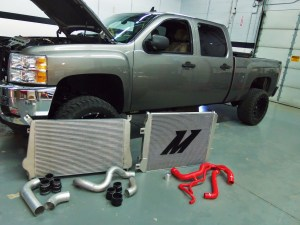 Mishimoto 2011+ Chevrolet/GMC 6.6L LML Duramax Performance Intercooler, Part 4: Prototype Test Fit
