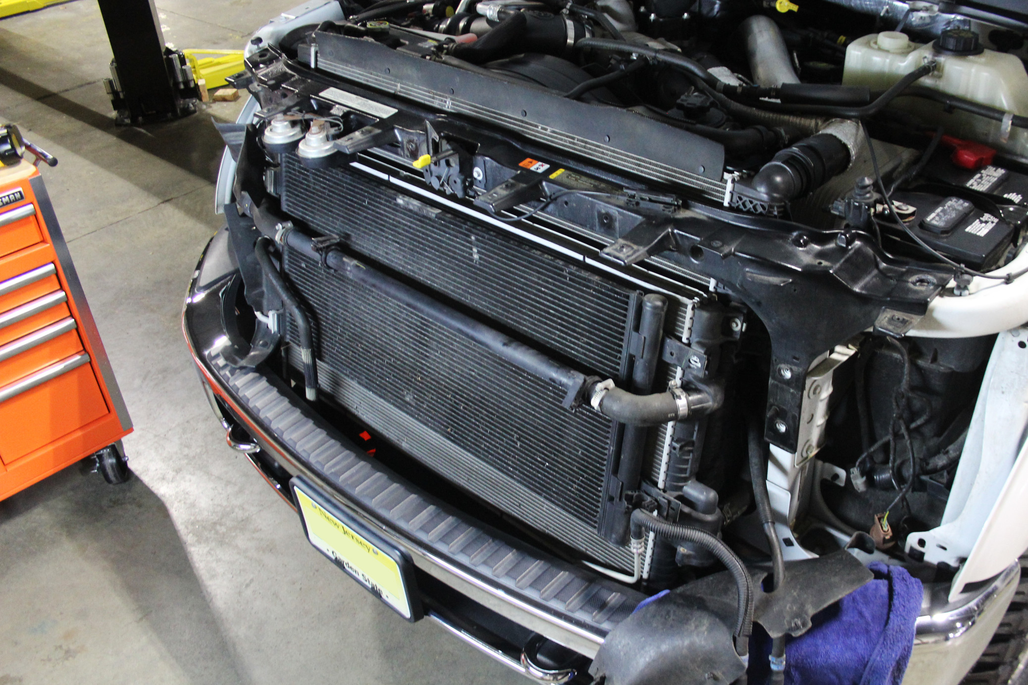2011-2016 Ford 6.7L Super Duty Secondary Radiator, Part 1: Factory Review  and 3D Models - Mishimoto Engineering