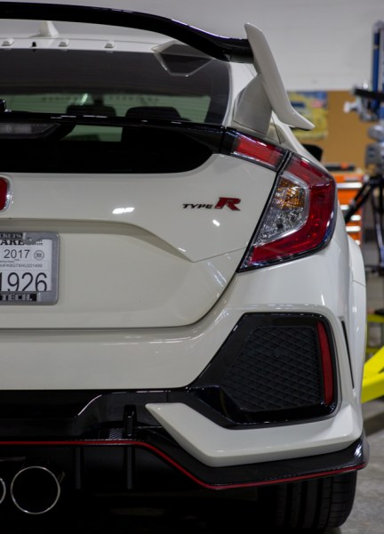 Honda put a lot of work into making sure their aerodynamics would keep the Civic handling smoothly. The last thing we would want to do is mount a catch can in the way.