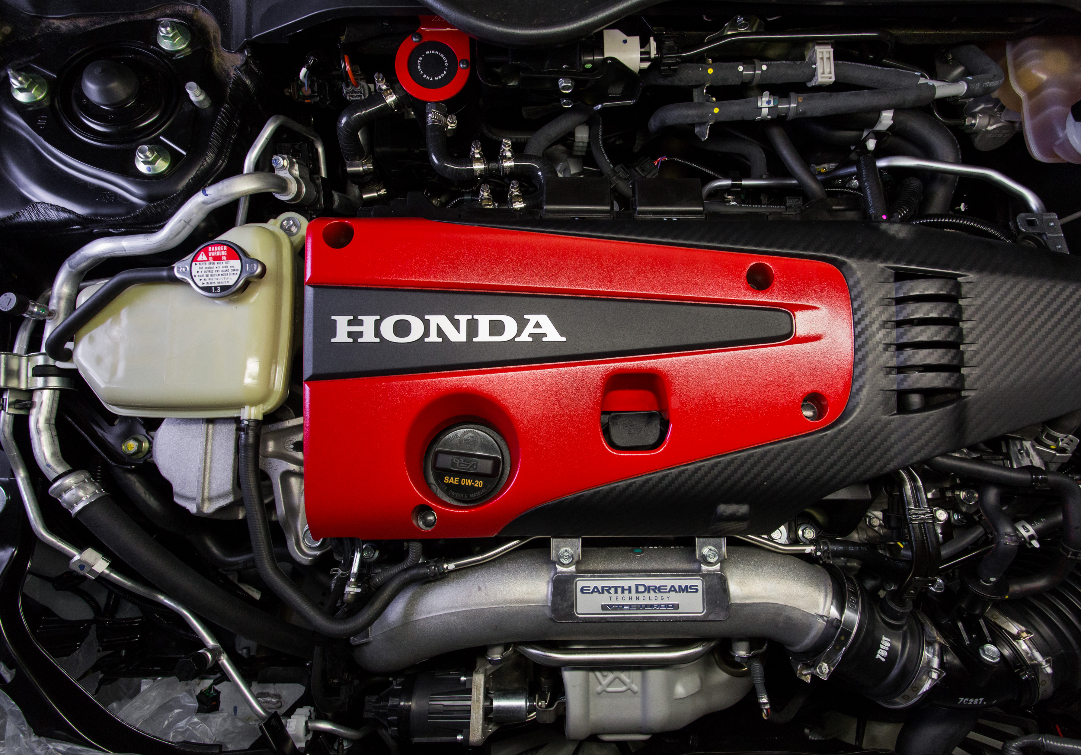 Honda Civic Type R Direct Fit Oil Catch Can 2017+