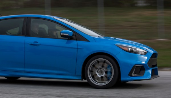 Pulling daily driving data is just as important to the process, since not every RS lives at the track.