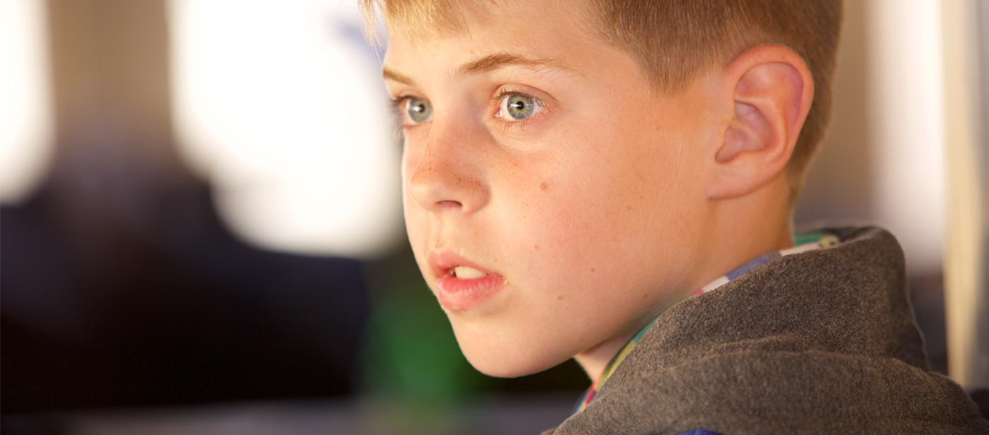 Portret jongen door misign ontwerp Amsterdam