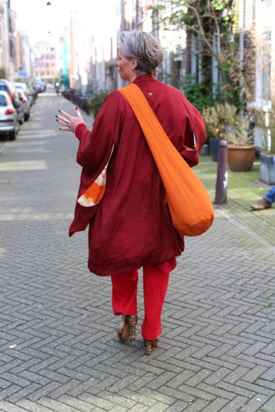 Samen naar de Noordermarkt: vriendschap door een kimono