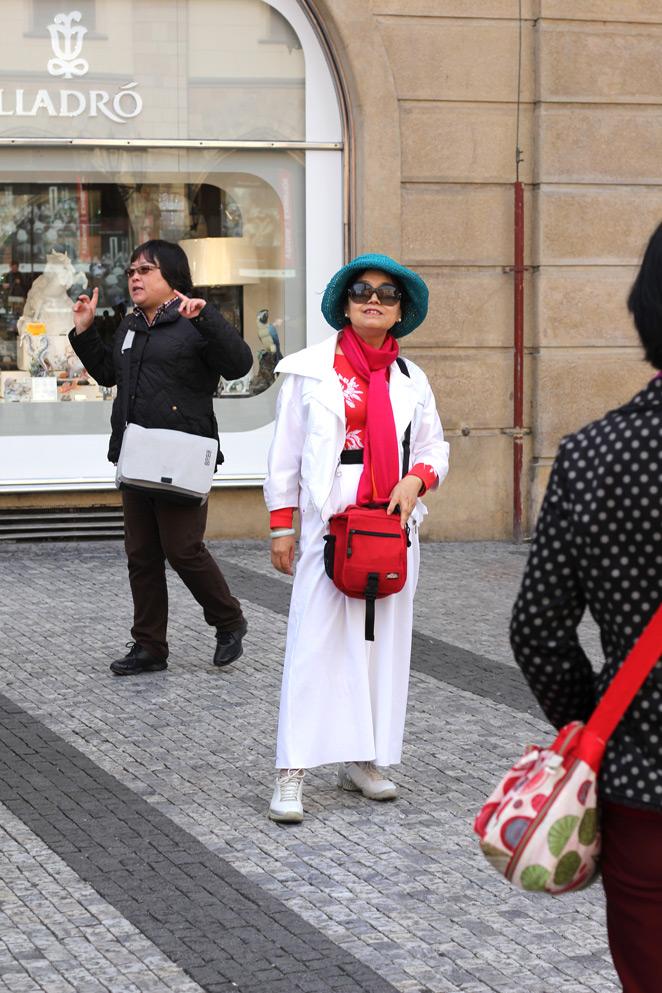 Steden trip naar Praag: veel mensen, veel mode, veel te zien