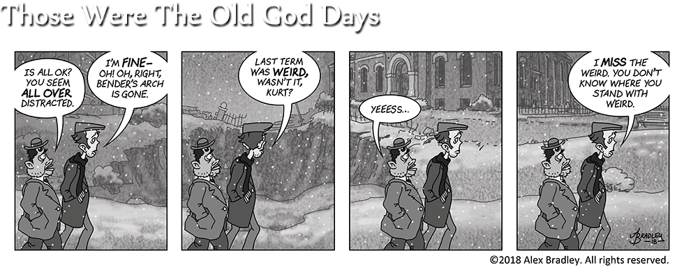Those Were The Old God Days