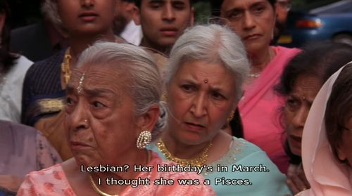 The ladies in Bend it like Beckham are as confused as I am.