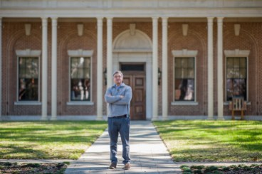 George Bassi, director of the Lauren Rogers Museum of Art