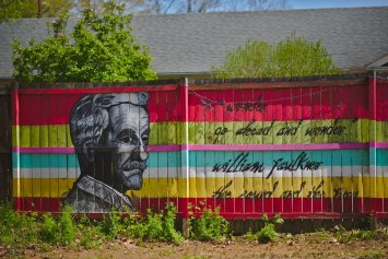 William Faulkner Mural