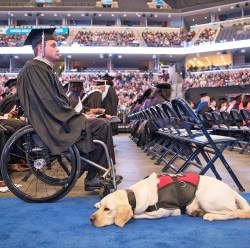 Able also assisted Densford at his graduation from the University of Memphis.
