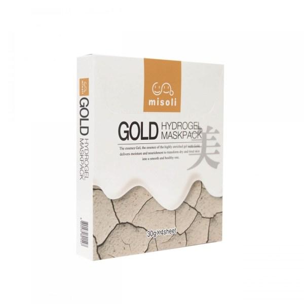 Misoli Gold Hydrogel Kasvonaamiot (4kpl)